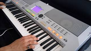 BBC Sherlock theme song performed on keyboard: Yamaha PSR S-500