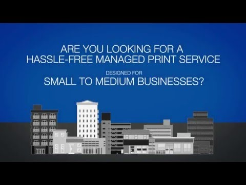 Hassle-free managed printing for SMEs
