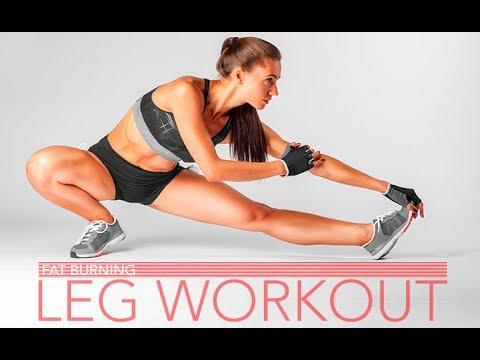 Fat Burning Leg Workout (10 MINUTE HIGH INTENSITY!!)