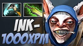 Ink Meepo with EPIC 1017 XPM in 7.20   Dota Gameplay