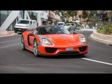 Supercars in Monaco 2020 - VOL. 16 (2x 918 Spyder, Twin Turbo Gallardo, Gemballa 12C, Novitec 812)