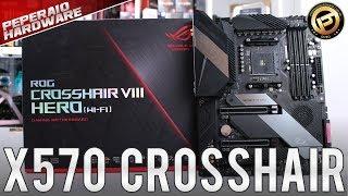 Review ASUS ROG Crosshair VIII Hero X570 / Testes 2700x, 3600x, 3700x / RAM 3600 / Análise VRM FLIR