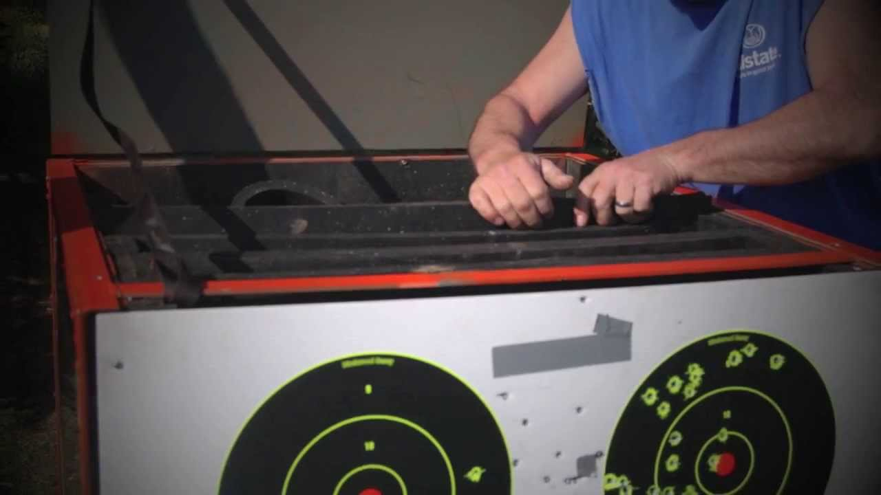Bullet Back Stop Portable Target Systems Youtube