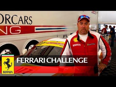 Ferrari Challenge North America – Interview with Joe Courtney