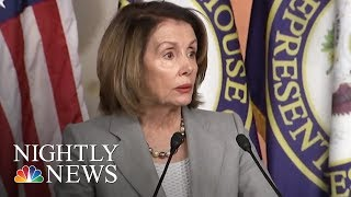 Nancy Pelosi Calls On Rep. John Conyers To Resign | NBC Nightly News