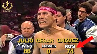 The Most FEARED Mexican Fighter In Boxing History! Julio Cesar Chavez
