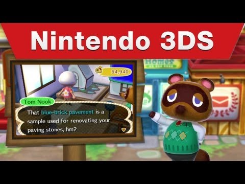 Nintendo 3DS -- Animal Crossing: New Leaf Tourism Trailer #3
