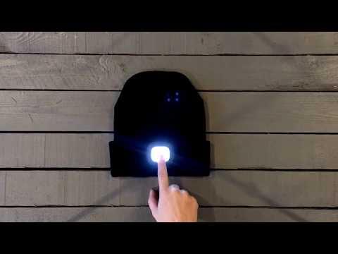 Mössa med LED-lampa | Bluebox.se