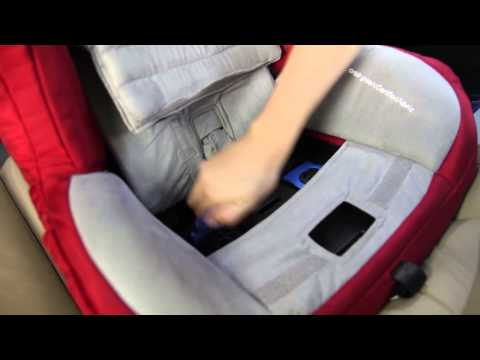 Orbit How: Installing the Toddler Car Seat G2/G3 rear facing with the LATCH system