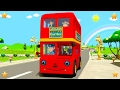 Wheels On The Bus | Kindergarten Nursery Rhymes & Songs for Kids | Little Treehouse S03E94