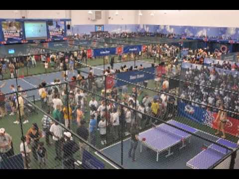 2010 US Open SmashZone Timelapse from Synergy Events