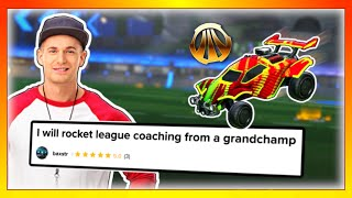 I hired a Rocket League coach on Fiverr, then challenged him to a 1v1