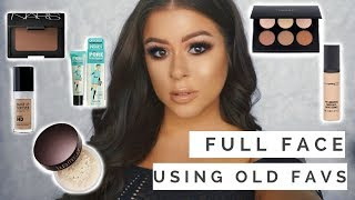 GRWM: Full Face Using Old Favorites  AND How I started My Makeup Career (Old Photos Included)