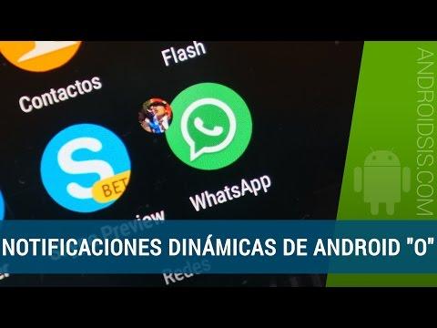 Notificaciones Dinámicas Android 8