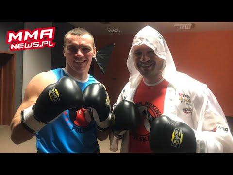 Video: Paweł Jóźwiak w konfrontacji pięściarskiej z Mateuszem Masternakiem