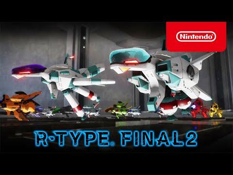 R-Type Final 2 - Demo Trailer - Nintendo Switch