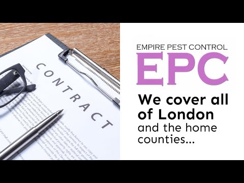 BENEFITS OF A PEST CONTROL CONTRACT | EMPIRE PEST CONTROL LONDON