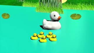 Five Little Ducks went swimming one day | Kids Songs