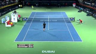 Federer Survives Scare At Dubai Duty Free Tennis Championships
