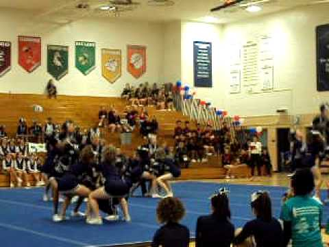 Reavis Varsity cheerleaders PART 1