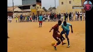 Dribles Provocativos & Lances Mais Humilhantes do Futebol de Rua Em Angola 2021😅
