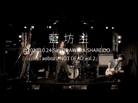 藍坊主「aobozu NOT DEAD vol.2」2020.10.24@ODAWARA SHAREIDO【For J-LOD LIVE】