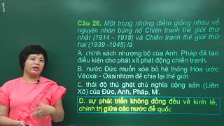 Đề thi thử THPT Quốc gia môn Lịch sử năm 2019 - Cô Lê Thu - Tuyensinh247.com