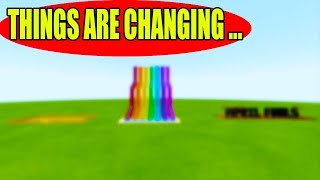 This Channel Is Changing...