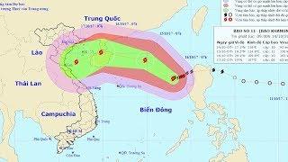 Tin bão trên Biển Đông (Cơn bão số 11)