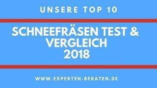 ᐅ Schneefräsen Vergleich & Test - Unsere 10 Top - 2018