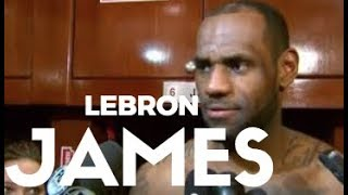 LEBRON JAMES ADMITS THAT HE WAS WRONG TO THE REFS AFTER LOSING TO THE PACERS!