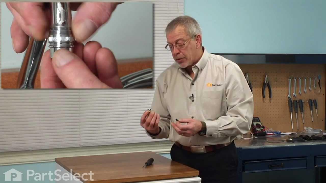 Portable Dishwasher Repair Replacing The Faucet Adapter
