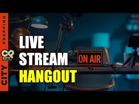 City Prepping Live Stream - 6/4/21