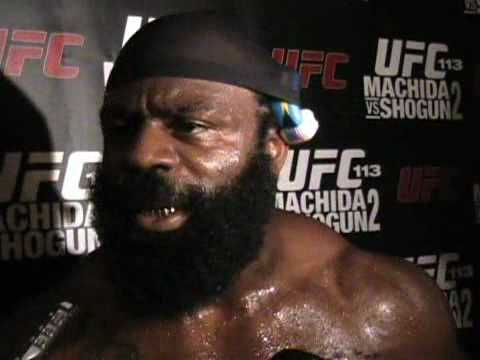 Kimbo Slice Talks UFC 1 Poster