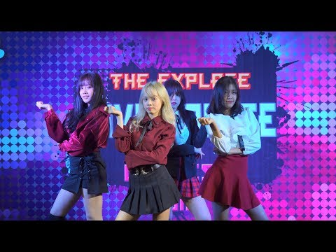 180211 UZI cover BLACKPINK - WHISTLE + PLAYING WITH FIRE @ The Explace Cover Dance 2018 (Final)