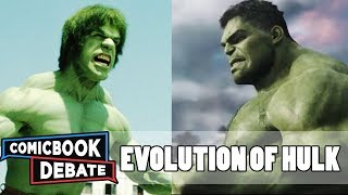 Evolution of Hulk in Movies & TV in 7 Minutes (2017)