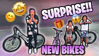 Surprising My Kids With Brand New  Bigger Bikes!