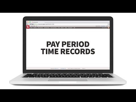 Pay Period Time Records - PPTR