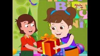 Baar Baar Din Yeh Aaye Happy Birthday Song | Hindi Children Songs | Film Song by Jingle Toons