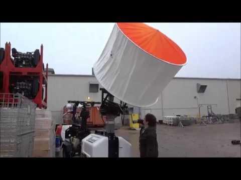 Allmand Light Tower Airstar Vertical Install