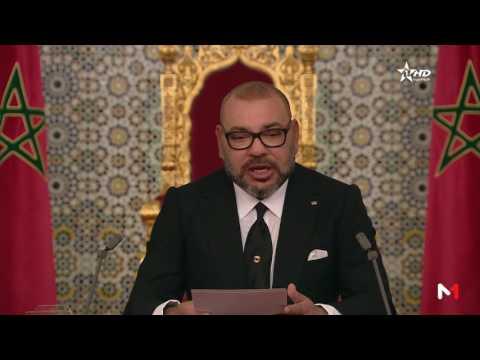 الملك يقصف السياسيين في خطاب ناري