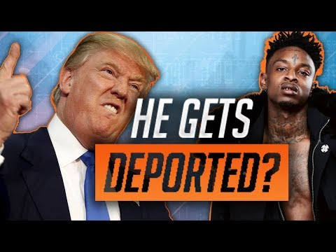 21 Savage Is Getting DEPORTED To The United Kingdom?