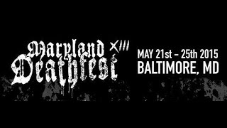 "MASACRE "" Maryland Deathfest XIII "" May./24/2015"