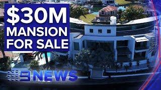 Luxurious Gold Coast mansion hits the market for $30 million   Nine News Australia