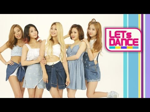 Let's Dance: LADIES' CODE(레이디스 코드) _ KISS KISS(키스 키스) [ENG/JPN/CHN SUB]