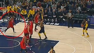 Victor Oladipo Almost Sends His Defender Off The Court with Behind The Back Move!