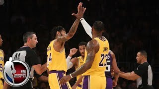 LeBron, Ingram light up Staples Center in Lakers' win vs. Kings | NBA Preseason Highlights