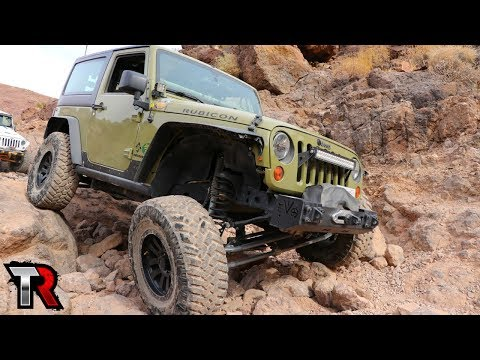 Jeep Wranglers Off-Road in Calico - Adventure Weekend Day 2