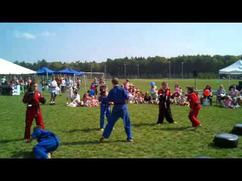 Kids Fitness Festival Demonstration 2010