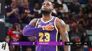 Los Angeles Lakers vs New Orleans Pelicans - Full Game Highlights | February 23, 2019